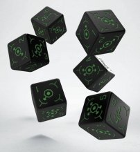 Ingress Dice Set 6D6 Enlightened (6)