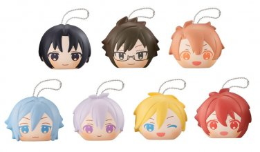 Idolish7 Fluffy Squeeze Bread Anti-Stress Figures 8 cm Assortmen