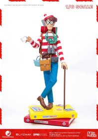 Where's Wally? Mega Hero Akční figurka 1/6 Wally 34 cm