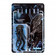 Aliens ReAction Akční figurka Wave 1 Alien Warrior Midnight Blac