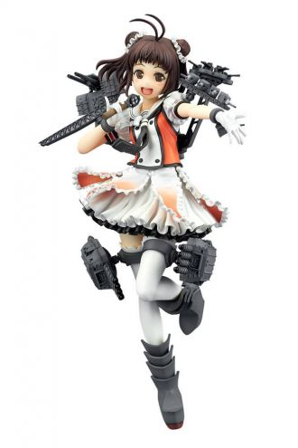 Kantai Collection PVC Socha Naka Kaini 20 cm