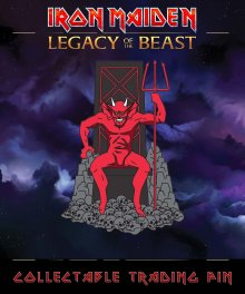 Iron Maiden Legacy of the Beast Odznak The Beast