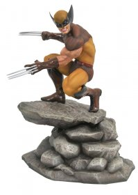 Marvel Gallery PVC Socha Brown Wolverine 23 cm