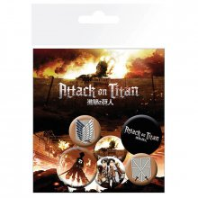 Placky Attack on Titan 6-pack