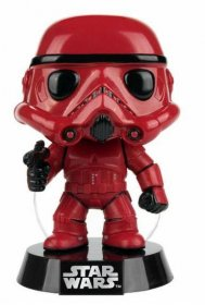 Star Wars POP! Vinyl Bobble-Head Red Stormtrooper 9 cm