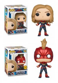 Captain Marvel POP! Marvel Bobble-Head Figures Captain Marvel 9