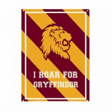 Harry Potter Tin Sign Roar Gryffindor 21 x 15 cm