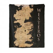 Game of Thrones Throw Westeros 125 x 150 cm