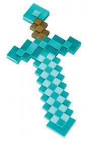 Minecraft Plastic Replica Diamond Sword 51 cm