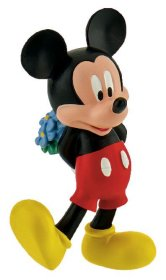 Disney Mickey Mouse & Friends Figure Mickey Valentine 7 cm