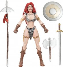 Red Sonja gumová ohebná figurka She-Devil with a Sword 14 cm