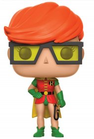 DC Comics POP! Heroes Figure Robin (Carrie Kelley) 9 cm