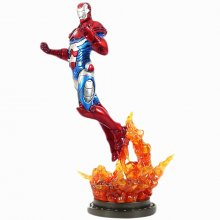 Marvel sběratelská socha Iron Patriot 34 cm Iron Man