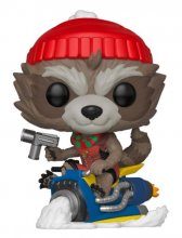Marvel Holiday POP! Marvel Vinylová Figurka Rocket 9 cm