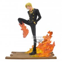 One Piece Log File Selection -Fight- PVC Socha Sanji 15 cm