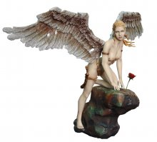 Fantasy Figure Gallery socha Her Garden Broken Wings Version