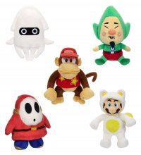 Super Mario World of Nintendo Plush Figures 15 cm Assortment (8)