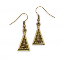 Fantastic Beasts Macusa Earrings (antique brass plated)