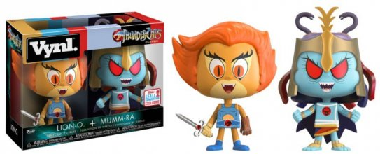 ThunderCats VYNL Vinyl Figures 2-Pack Lion-O & Mumm-Ra 2017 Fall