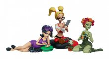 DC Comics Designer Series Vinyl Socha Set Sleepover Sirens by C
