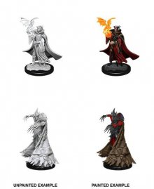 Pathfinder Battles Deep Cuts Unpainted Miniatures Cultist & Devi