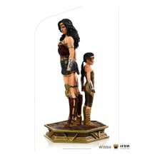 Wonder Woman 1984 Deluxe Art Scale Socha 1/10 Wonder Woman & Yo