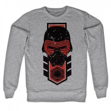 Star Wars Episode VII šedá mikina Kylo Ren Distressed