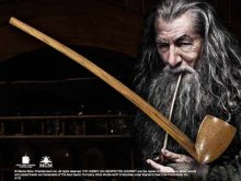 The Hobbit An Unexpected Journey Replica 1/1 The Pipe of Gandalf