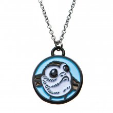 Star Wars Stainless Steel Pendant with Chain Porg