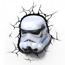 Star Wars 3D LED Světlo Stormtrooper