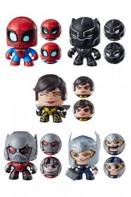 Marvel Mighty Muggs Figures 9 cm 2018 Wave 4 Assortment (6)