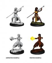 D&D Nolzur's Marvelous Miniatures Unpainted Miniatures Female Ha