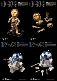 Star Wars Egg Attack Akční figurka 2-Pack R2-D2 & C-3PO (Episode