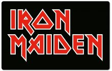 Iron Maiden Cutting Board Logo