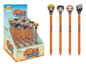 Naruto POP! Homewares Pens with Toppers Display Classic (16)