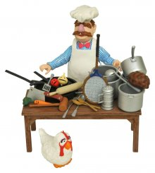 The Muppets Akční figurka The Swedish Chef Deluxe Gift Set