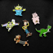 Toy Story Enamel Label sada odznaků 4-Pack