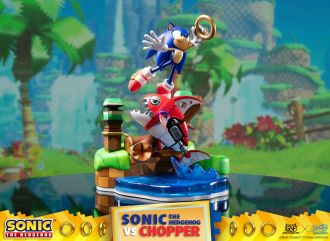 Sonic Generations Diorama Sonic vs Chopper 28 cm