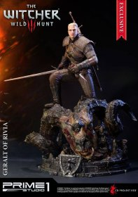 Witcher 3 Wild Hunt Socha Geralt of Rivia Exclusive 66 cm