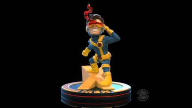 Marvel Q-Fig Diorama Cyclops (X-Men) 10 cm