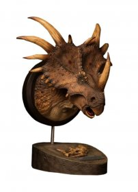 Paleontology World Museum Collection Series Bust Styracosaurus B