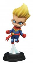 Marvel Animated Socha Captain Marvel 10 cm