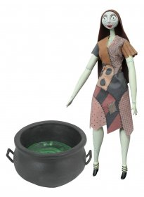 Nightmare before Christmas Deluxe Coffin Doll Cauldron Sally 36