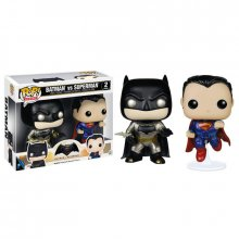 Figurky 2-Pack Metallic Batman & Superman 9 cm