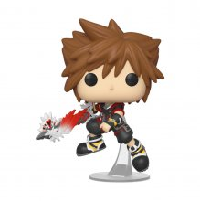 Kingdom Hearts 3 POP! Disney Vinylová Figurka Sora w/Shield 9 cm