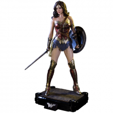 Batman v Superman Dawn of Justice 1/2 socha Wonder Woman 102 cm