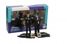 Blues Brothers Movie Icons Socha 2-Pack Jake & Elwood 18 cm