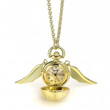 Harry Potter Watch náhrdelník Golden Snitch (gold plated)