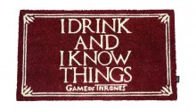 Game of Thrones rohožka I Drink And I Know Things 43 x 72 cm