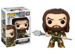 Justice League Movie POP! Movies Vinyl Figure Aquaman (Armored)